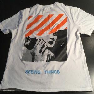 Off White Virgil Abloh Seeing Things T-shirt